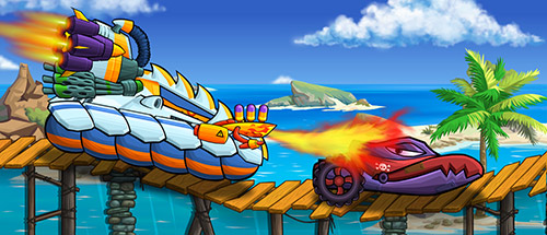 Car Eats Car Sea Adventure Spiel